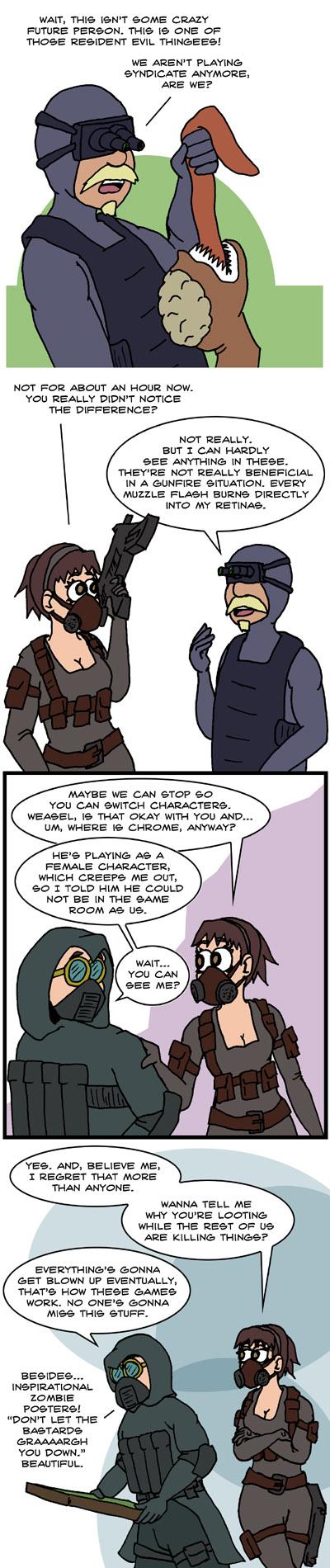Resident Evil Operation Raccoon City - Teamwork Ethics